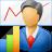 chart, diagram, graph, logistic, logistics, plot, schedule icon