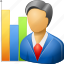 clerk, commercial, marketer, mercantile, merchant, sales, salesman, seller, shop, shop assistant, trade, trading, vendor icon
