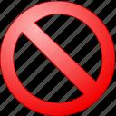 ban, cancel, delete, embargo, entry, exit, interdict, no, penalti, permission, prohibition, sanction, taboo, tabu, vote icon
