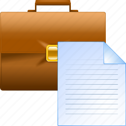 bag, baggage, box, brief case, briefcase, career, storage icon