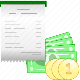 card, case-record, chalk, check, cheque, credit, defrayal, disbursement, draft, draught, jawbone, payment, reimbursement, remuneration, repayment, slip, tab, tick, ticket, trust icon