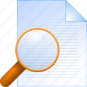 documents, zoom, search locate, explore, paper, find, instrument, deed, writing, record, print, preview, document, stock