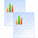 data set, deed, document, documents, file, graph, instrument, paper, record, report, reports, writing icon
