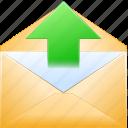 communication, email, envelope, letter, message, post, send mail