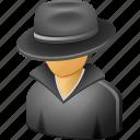 spy, webroot, undercover, agent, user, male, lover, men in black, reticent, reserved, secret, cagey, secretive, close, cia, hide, nsa, fbi, security, hidden, css, man, human, profile