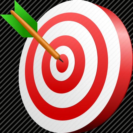 aim, bullseye, darts, goal, kill, pika, sport, target icon