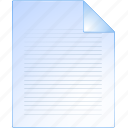 document, file, list, page, paper, pdf, text