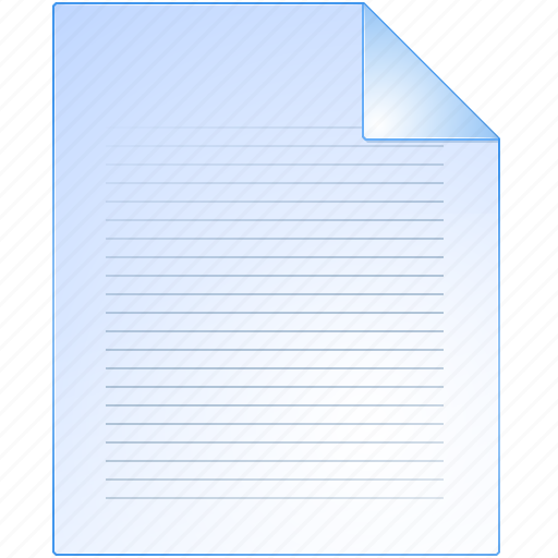 document, file, list, page, paper, pdf, text icon