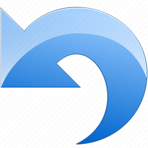 arrow, back, edit, left, previous, restore, return, reverse, revert, turn, undo icon