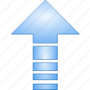 arrow, direction, grow, growth, increase, up, update icon