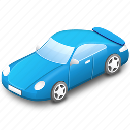 blue, car, traffic, transport, transportation, vehicle icon