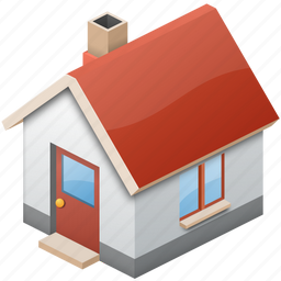 home, house, simple icon