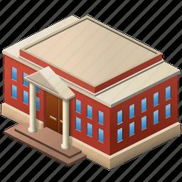 building, city, court, crime, justice, law, themida, themis icon