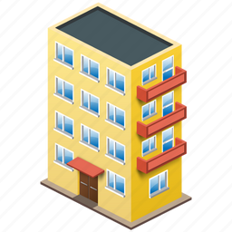 building, home, house, multistorey, office icon