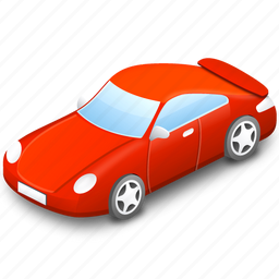 auto, automobile, car, red, red car, taxi, traffic, transport, transportation, vehicle icon