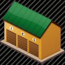 barrack, barracks, depo, deposite, depot, farm, hospital, store, storehouse, treasury, ware, warehouse, wealth icon