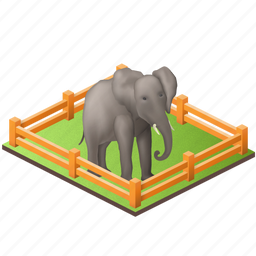 animal, animals, chang, elefant, elethant, garden, gardening, zoo, zoological icon