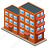 building, house, brick, buildings, office, bricks, home icon