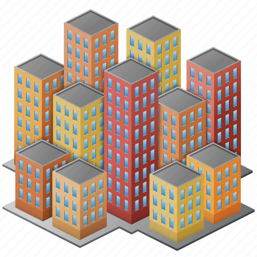 bedroom, business, center, city, community, downtown, group, megalopolis, megapolis, people, polis, users icon