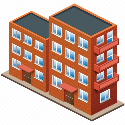 brick, bricks, building, buildings, home, house, office icon