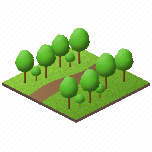 clear, fruits, garden, gardening, green, nature, park, plants, simple, tree, trees icon