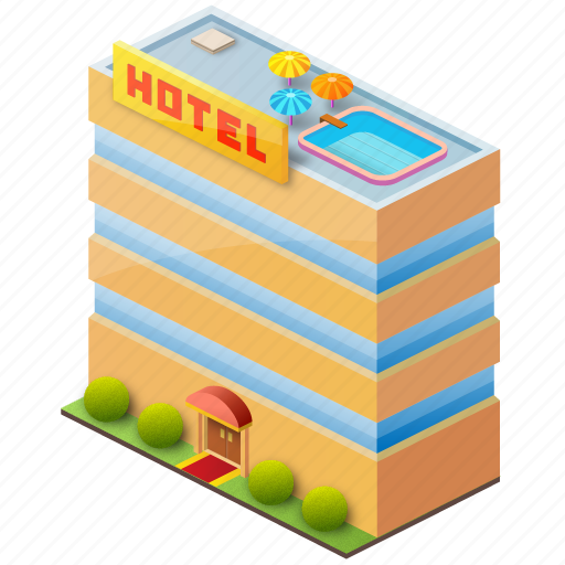 holiday, hostel, hotel, travel, vacation icon