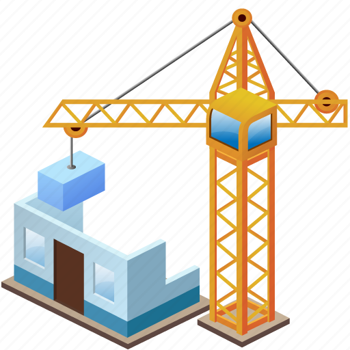 Https Www Iconfinder Com Icons 168458 Build Building Buildings Crane Home House Industry Simple Icon