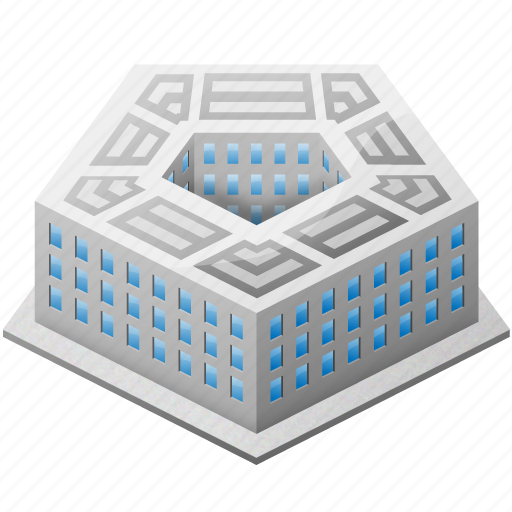 attack, building, buildings, fake, house, military, office, pentagon, president, security, us, usa, war, washington icon