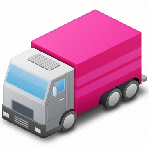 Base deliver delivery map marker pink traffic transport – Travel Marker Map