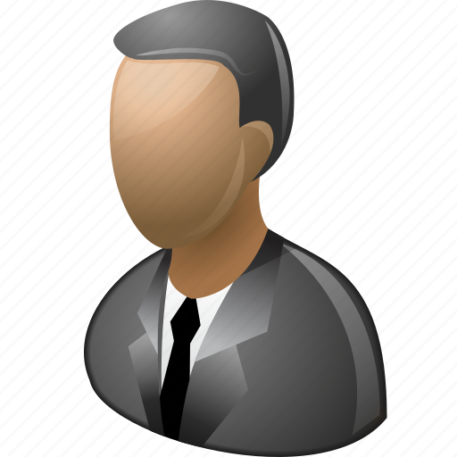 business man, businessman, employee, guest, manager, person, user icon