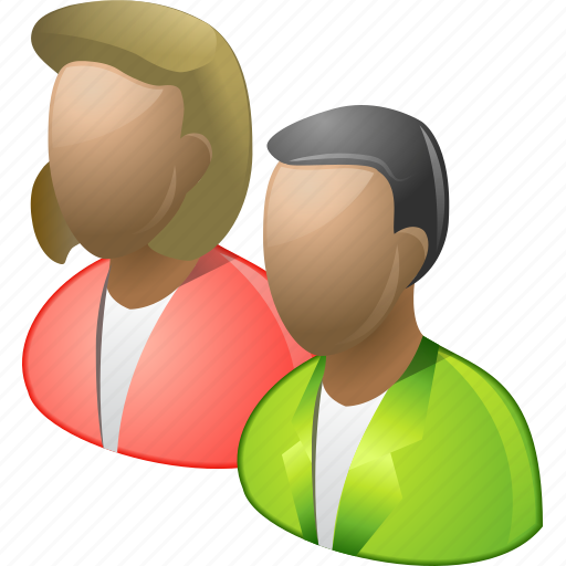 clients, family, friends, men, people, user group, users icon