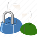 group, locked users, password, people, protection, safety, secure icon