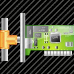 circuit, connection, device, microchip, network card, schema, scheme icon
