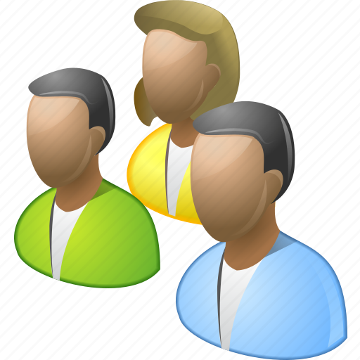 company, conference, customers, meeting, people, user group, users icon