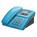 apparatus, call, cell, desk phone, fashion, mobile, old style, phone, retor, retro, telephone icon