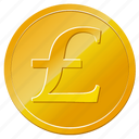 money, pound, coin, england, uk, british, english, currency icon