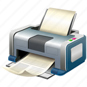 print, printer, printing, raw, simple icon