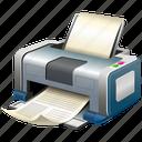 printer, printing, print icon