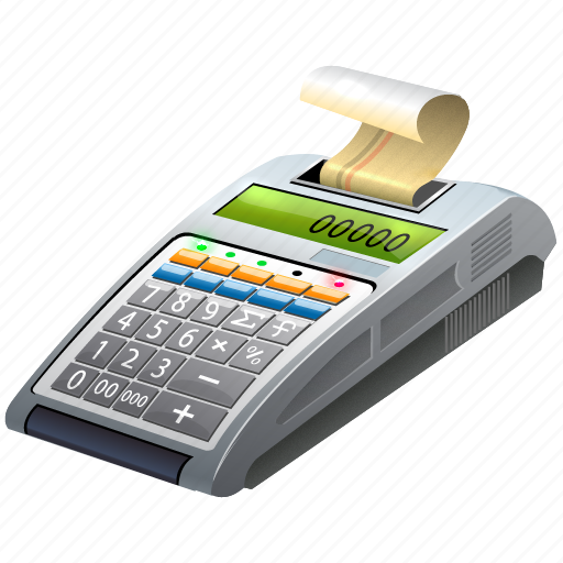 cash, cash register, cash-register, cashregister, cassa, cassier, payment, pos, register, shopping, terminal icon