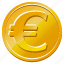 cash, coin, currency, euro, european, money, price, shopping, sign icon