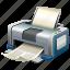 print, printer, printing, raw, simple icon