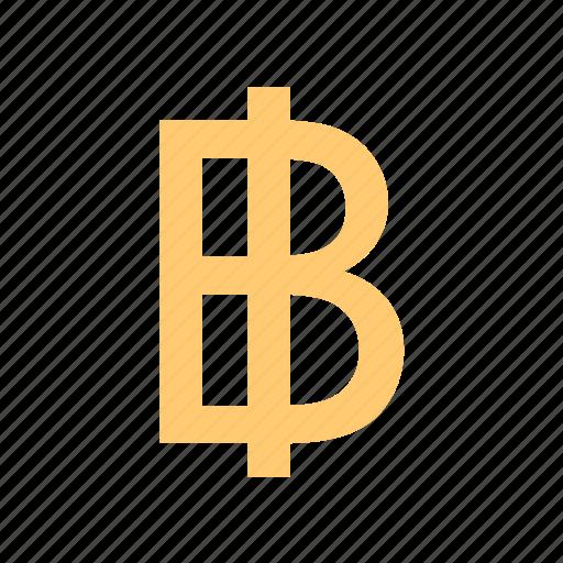 baht, cash, currency, dough, money, thailand, tical icon