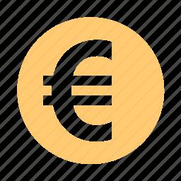 cash, currency, dough, euro, money icon