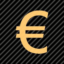 cash, dough, euro, sign icon