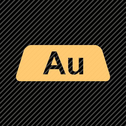 au, aurum, bar, bullion, chart, gold, gold bar, graph, ingot, king of metals, ocher, ochre, prosperity, red, rich icon