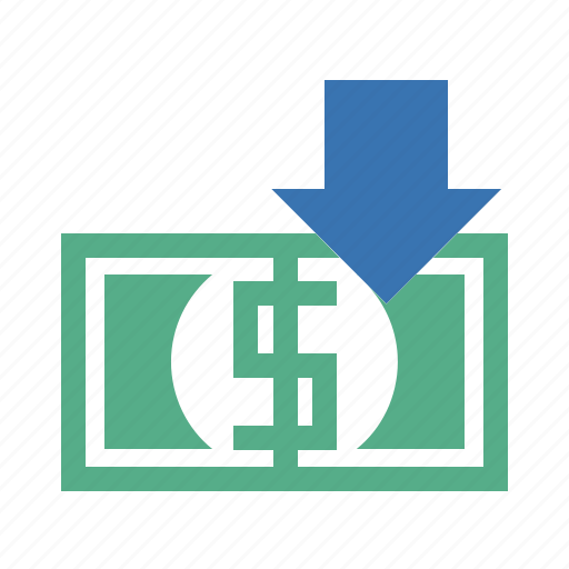 bank, benefit, currency, dollar, dollars, dough, gain, proceeds, profit, return, revenue, yield icon