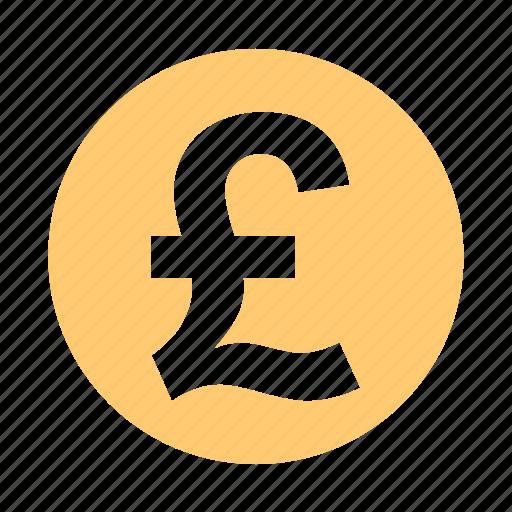 British Cash Coin English Money Pound Price Uk Icon
