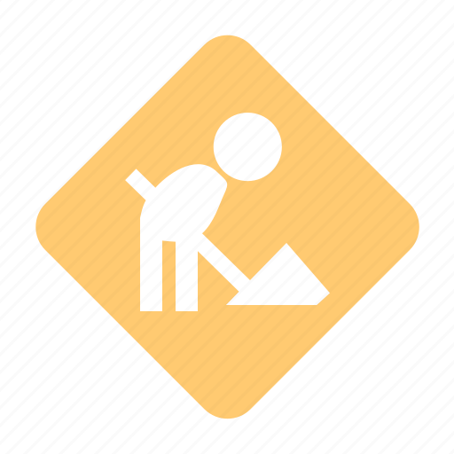 action, construction, direction sign, functioning, in progress, job, labor, operation, proceedings, road running, road sign, roadworks, run, scheduled, service, task, tasks, traffic sign, under, under construction, work, working, works icon
