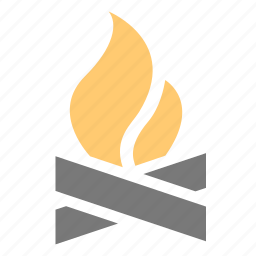 balefire, bite, bonfire, burn, camp, fire, firewood, grill, hot, parch, smart, smudge, sting, wood, woods icon