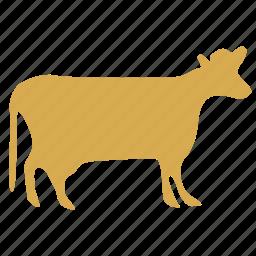 animal, beast, beef, beefs, bossy, bull, cow, head, kine, livestock, neat, ox, state, stratocastor, wagon icon